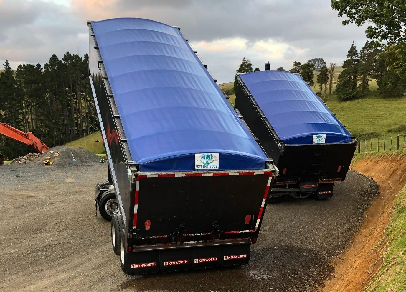 semi water proof truck trailer tarp